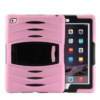 iPad Pro 9.7 Protector hoes licht roze