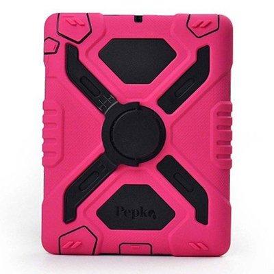 Pepkoo Spider Case voor iPad Air roze/zwart