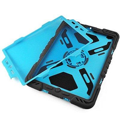Pepkoo Spider Case voor iPad Air 2 zwart/blauw