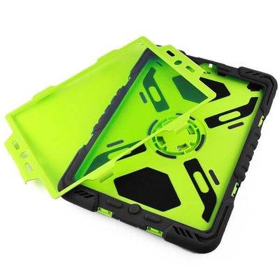 iPadspullekes.nl Spider Case voor iPad Air 2 zwart/groen