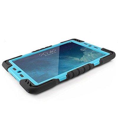 iPadspullekes.nl Spider Case voor iPad Mini 1 2 3 zwart/blauw