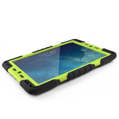 iPadspullekes.nl Spider Case voor iPad Mini 1 2 3 zwart/groen