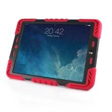 Pepkoo Spider Case voor iPad Mini 4 rood/zwart