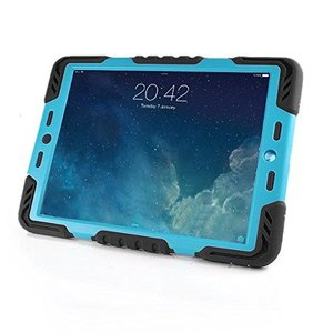 Pepkoo Spider Case voor iPad Pro 9.7 zwart/blauw