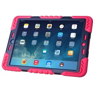 Pepkoo Spider Case voor iPad Air 2 roze/zwart