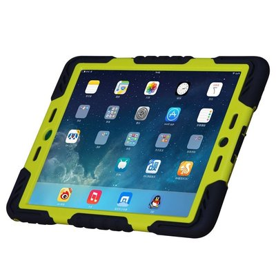 iPadspullekes.nl Spider Case voor iPad Pro 9.7 zwart/groen