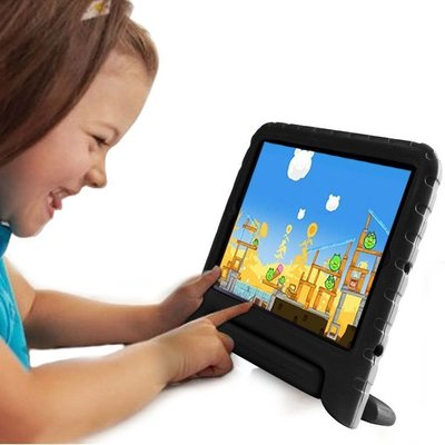 iPadspullekes.nl iPad 2017 Kids Cover zwart