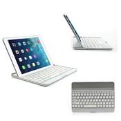 iPad Air 2 toetsenbord bluetooth aluminium wit