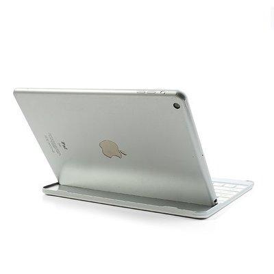 iPadspullekes.nl iPad Pro 9,7 toetsenbord bluetooth aluminium wit