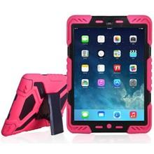 Pepkoo iPad 2017 hoes Spider Case roze zwart