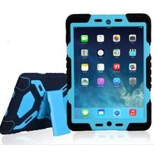 Pepkoo iPad 2017 hoes Spider Case zwart blauw