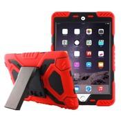 iPadspullekes.nl iPad 2017 hoes Spider Case rood zwart