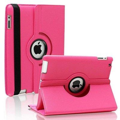 iPad Pro 10,5 hoes 360 graden roze leer
