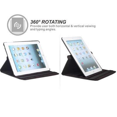 iPad Pro 10,5 hoes 360 graden zwart leer