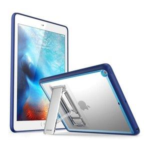 i-Blason iPad 2017 hoes Halo Slim Case blauw