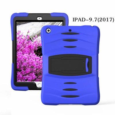 iPad 2017 hoes Protector blauw