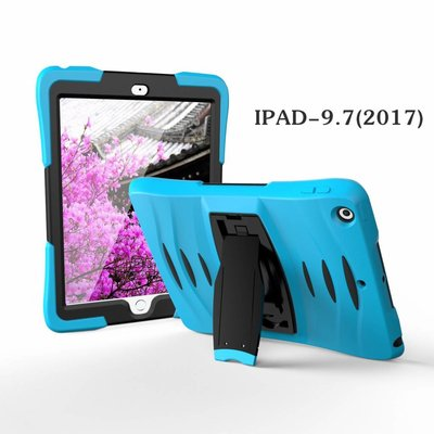 iPad 2017 hoes Protector licht blauw