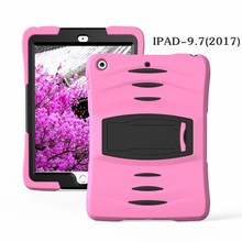 iPad 2017 hoes Protector licht roze