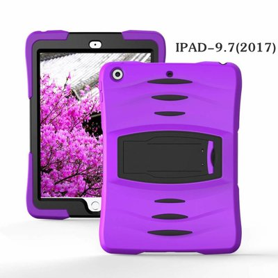 iPad 2017 hoes Protector paars