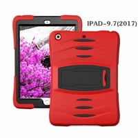iPadspullekes.nl iPad 2017 hoes Protector rood