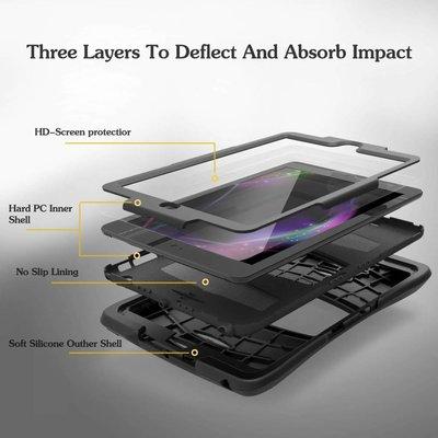 iPad 2017 hoes Protector zwart