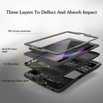 iPad Pro 10,5 hoes Protector zwart