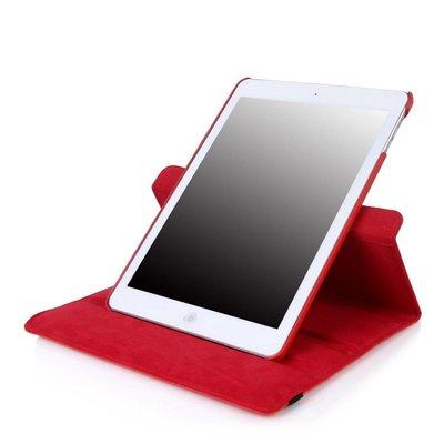 iPadspullekes.nl iPad Pro 12,9 (2017) hoes Rood leer