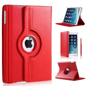 iPad Pro 12,9 (2017) hoes Rood leer