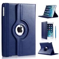 iPadspullekes.nl iPad Pro 12,9 (2017) hoes Blauw leer