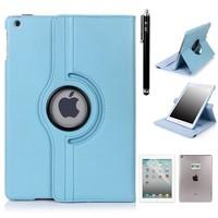 iPadspullekes.nl iPad Pro 12,9 (2017) hoes Licht blauw leer