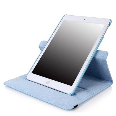 iPad Pro 12,9 (2017) hoes Licht blauw leer