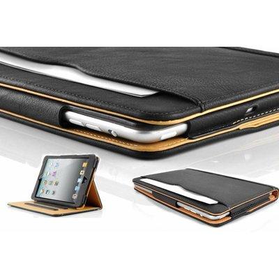 iPad Pro 12,9 luxe hoes leer bruin zwart
