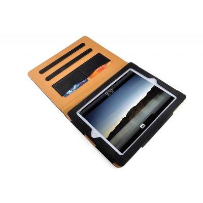 iPad hoes Pro 10,5 luxe leer bruin zwart