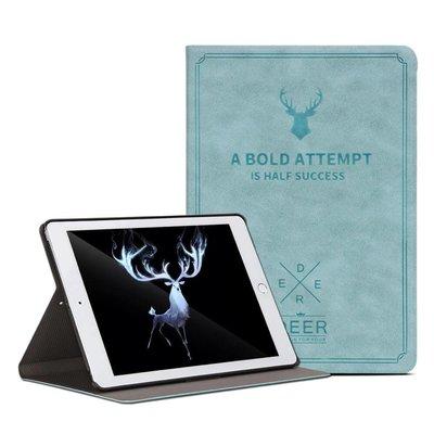 iPadspullekes.nl iPad hoes 2017 leer licht blauw
