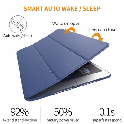 iPad 2017 Smart Cover Case Blauw