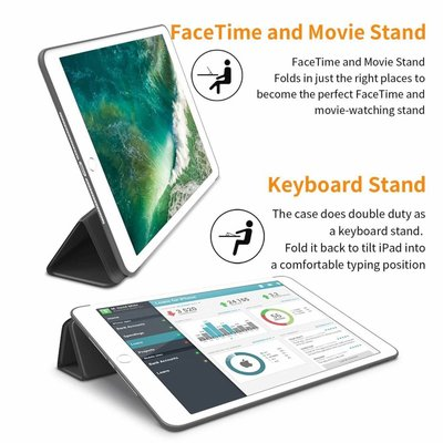 iPadspullekes.nl iPad 2017 Smart Cover Case Zwart