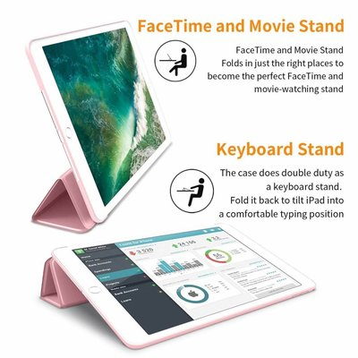 iPad Smart Cover Case Licht Roze