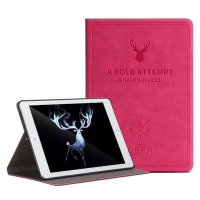 iPadspullekes.nl iPad hoes leer roze
