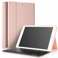 geen iPad Air 2 hoes met afneembaar toetsenbord roze