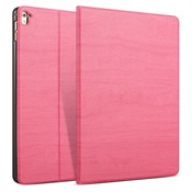 iPad hoes 2017 Design donker roze hout print