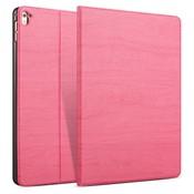 iPadspullekes.nl iPad hoes 2017 Design donker roze hout print