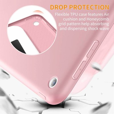 iPad 2018 Smart Cover Case Licht Roze