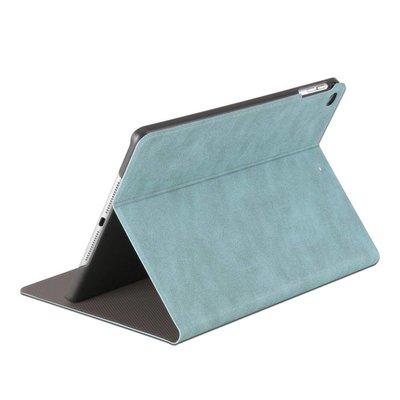iPad hoes 2018 leer licht blauw