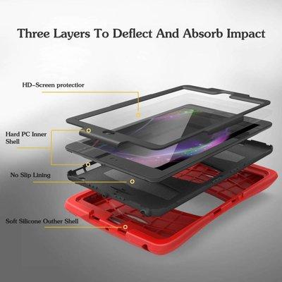 iPad 2018 hoes Protector rood