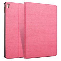 iPad hoes 2018 Design donker roze hout print