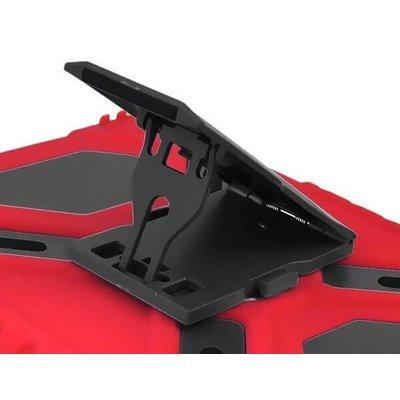 Pepkoo iPad 2018 hoes Spider Case rood zwart