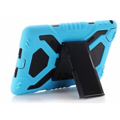 iPadspullekes.nl iPad hoes 2018 Spider Case zwart blauw