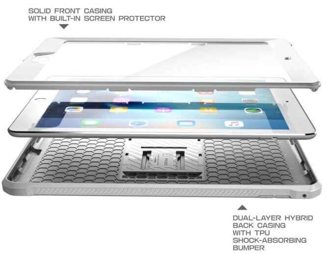 iPad 2018 hoes extra beschermd met screenprotector