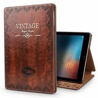 iPad hoes 2018 leer vintage bruin