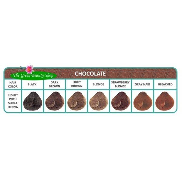Henna Cremekleuring Chocolat